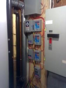 contrôles de pompes submersibles